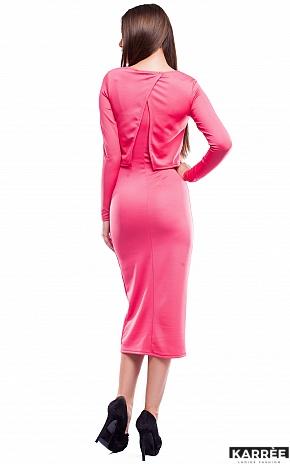 Платье Кристи, Коралл - фото 4