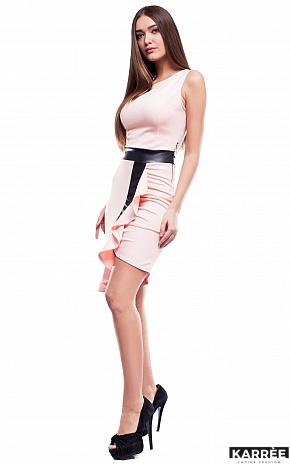 Платье Амира, Персик - фото 2