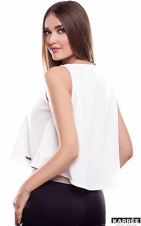 Блуза Мари, Молоко - фото 4