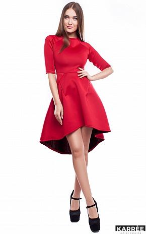 Платье Тринити, Красный - фото 1