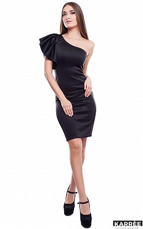 Платье Кокетка, Черный - фото 1