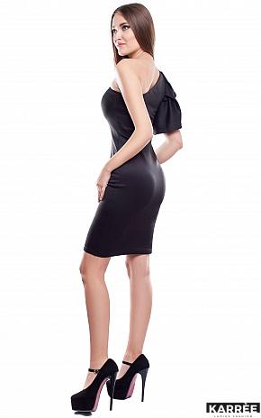 Платье Кокетка, Черный - фото 3