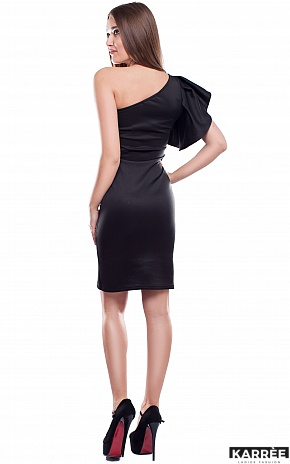 Платье Кокетка, Черный - фото 4