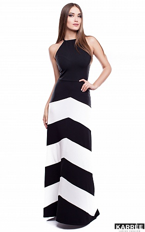 Платье Женева, Комбинированный - фото 1
