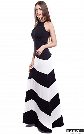 Платье Женева, Комбинированный - фото 2
