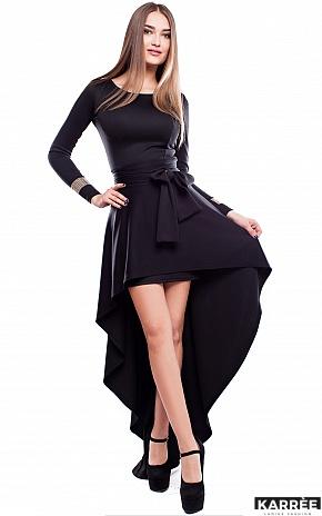 Платье Афродита, Черный - фото 2