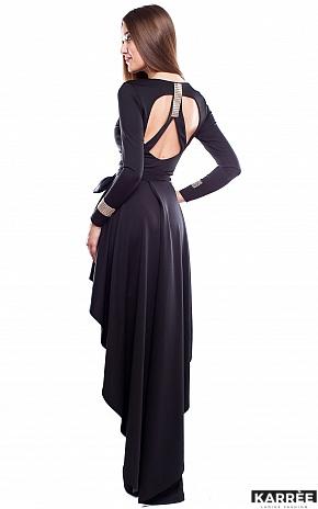 Платье Афродита, Черный - фото 3