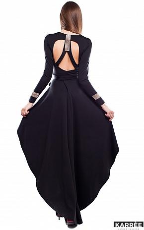 Платье Афродита, Черный - фото 4