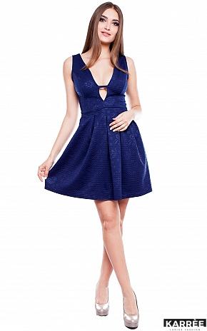 Платье Бри, Темно-синий - фото 2