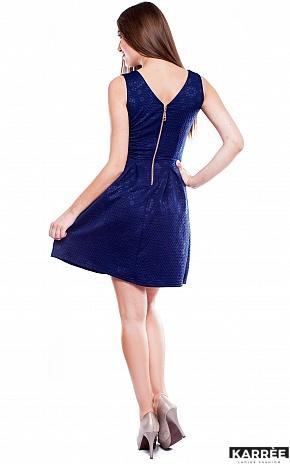 Платье Бри, Темно-синий - фото 3