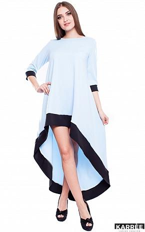 Платье Асия, Голубой - фото 2