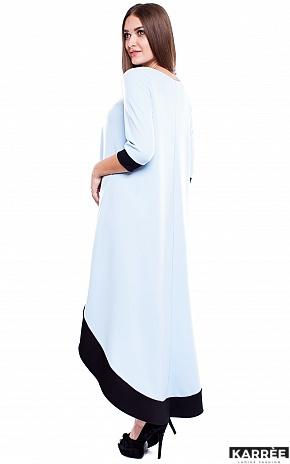 Платье Асия, Голубой - фото 3