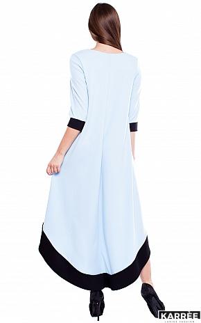Платье Асия, Голубой - фото 4