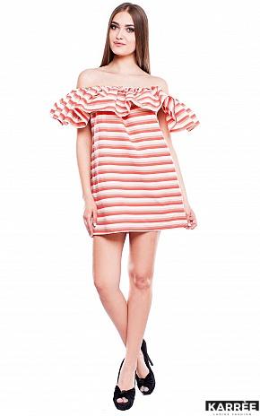 Платье Молли, Коралл - фото 1
