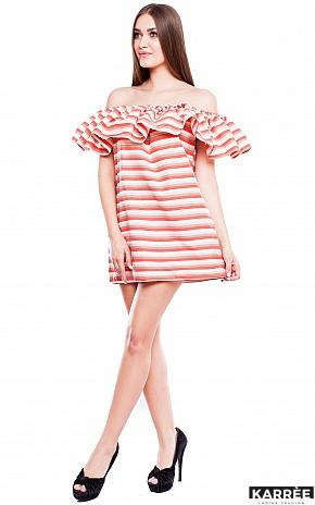 Платье Молли, Коралл - фото 2