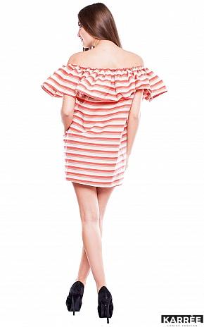 Платье Молли, Коралл - фото 3