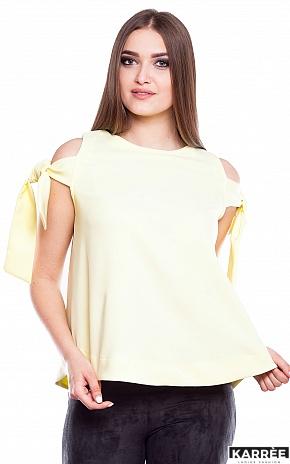 Блуза Синтия, Желтый - фото 1