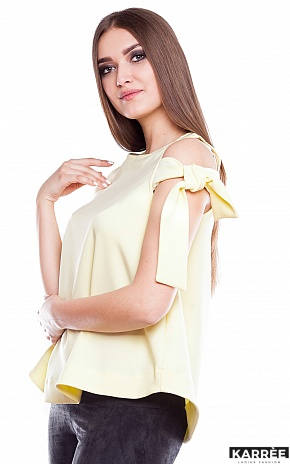 Блуза Синтия, Желтый - фото 2