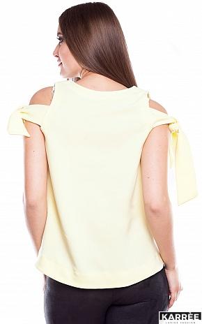 Блуза Синтия, Желтый - фото 3