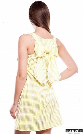 Платье Хайди, Желтый - фото 3