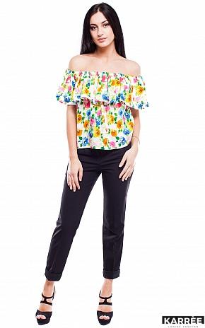 Блуза Кассаи, Комбинированный - фото 1