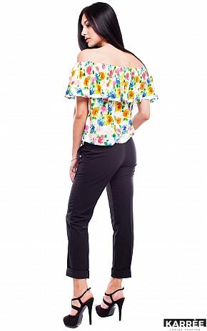 Блуза Кассаи, Комбинированный - фото 3