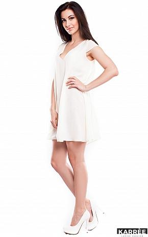Платье Модесто, Молоко - фото 2