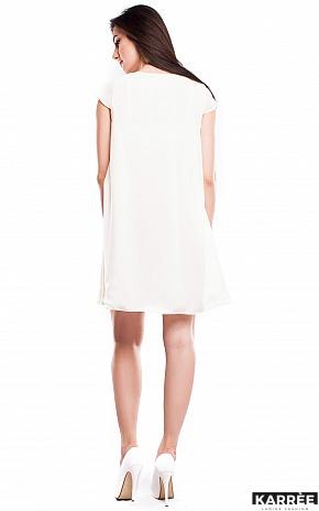 Платье Модесто, Молоко - фото 3