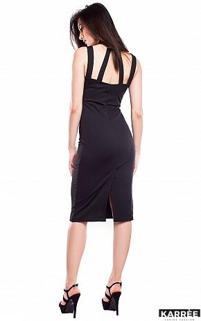 Платье Мемфис, Черный - фото 3
