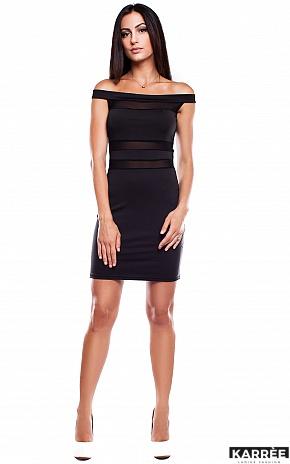 Платье Аллен, Черный - фото 1