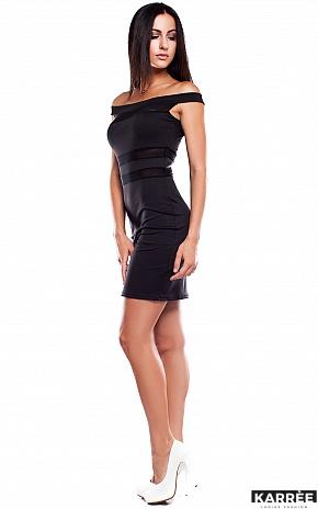 Платье Аллен, Черный - фото 2