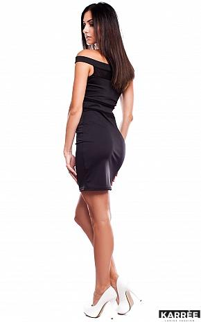 Платье Аллен, Черный - фото 3