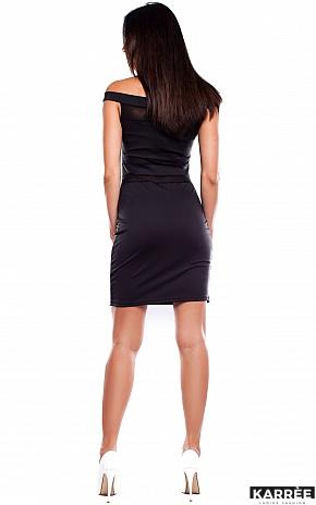 Платье Аллен, Черный - фото 4