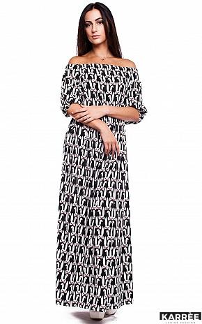 Платье Мобил, Комбинированный - фото 1