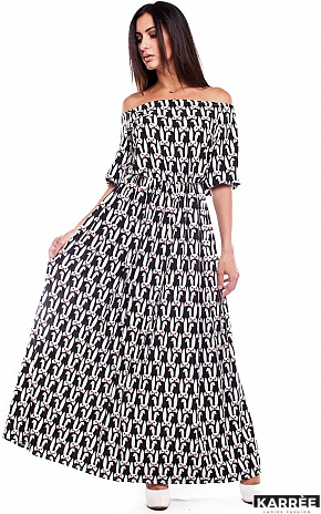 Платье Мобил, Комбинированный - фото 2