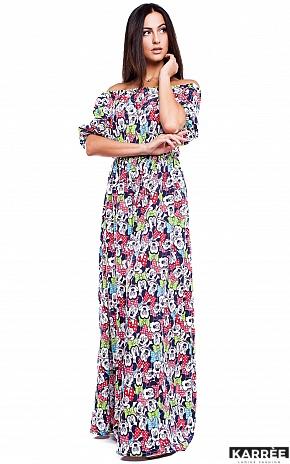 Платье Дени, Комбинированный - фото 3