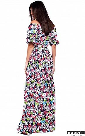 Платье Дени, Комбинированный - фото 4