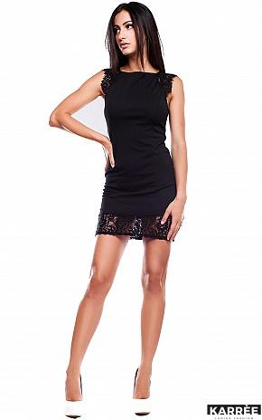 Платье Висконсин, Черный - фото 2