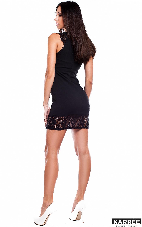 Платье Висконсин, Черный - фото 3